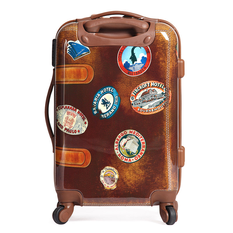 Phrase vintage looking luggage very