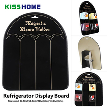 27.5x22cm Refrigerator Magnet Metal Display Stand Board Fridge Magnet Iron Exhibition Board Foldable Magnets Collection Holder цены онлайн