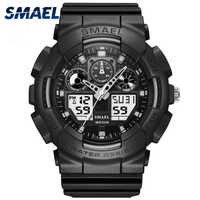 SMAEL marque Montre hommes Sport LED numérique mâle Montre-bracelet hommes Montre haut marque de luxe Relogios Masculino Montre Homme WS1027