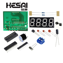 High Quality C51 4 Bits Electronic Clock Electronic Producti