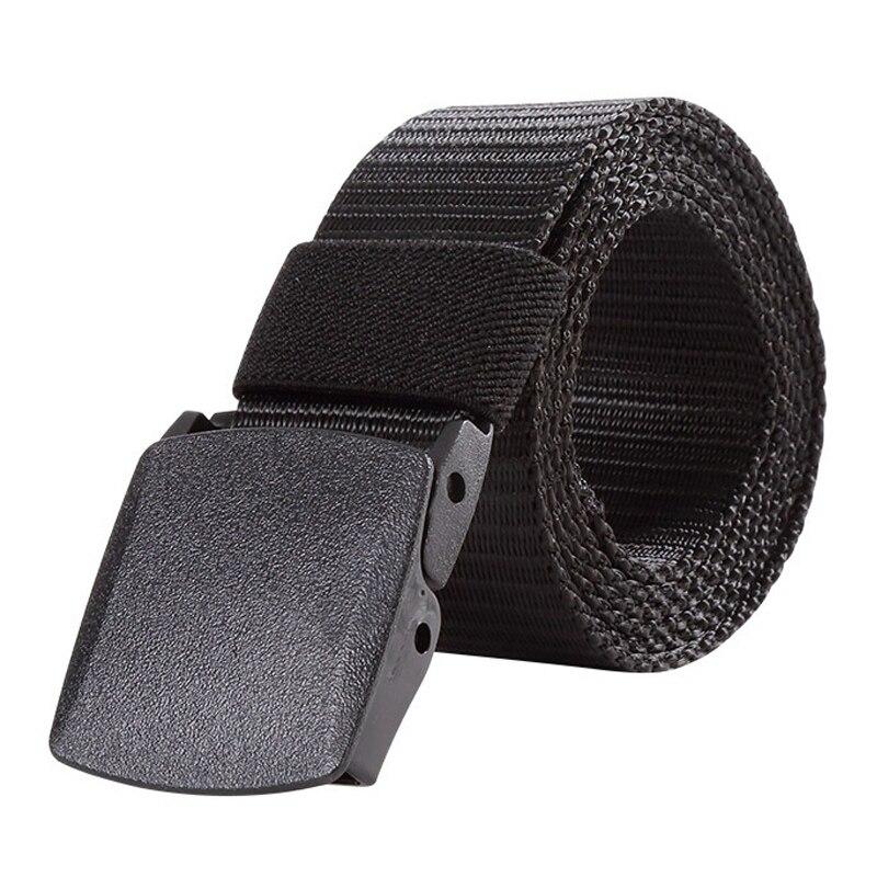 125CM Length Mens Womens Outdoor Metal Buckle Nylon YKK Waist Belts Multicam Molle Automatic Buckle Army