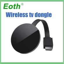 DLNA netflex Miracast TV Stick Беспроводной ключ Media Streaming HD WIFI TV ключ airplay для ios под andriod для google дома