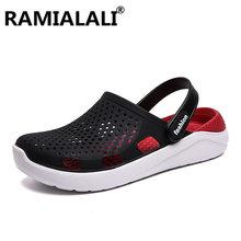 Ramialali Sandals Mens Shoes Summer Garden Clogs Mens Beach Sandals Outdoor Zuecos Men Slippers Sandalias Hombre
