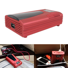 200W DC 12V to AC 220V Car Charger Auto Power Inverter Charger With USB Cigarette Lighter Converter Adapter