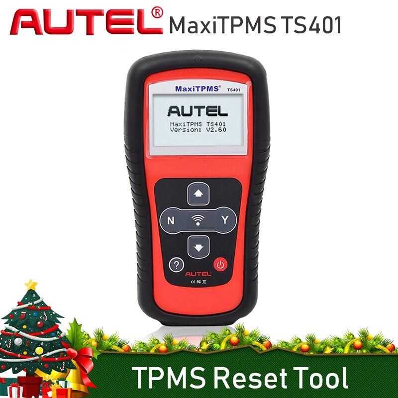 AUTEL MaxiTPMS TS401 TPMS Reset Tool di Programmazione 315 mhz 433 mhz Sensore di Pressione Dei Pneumatici Tester Attivare Imparare di Nuovo Clone TPMS Strumenti