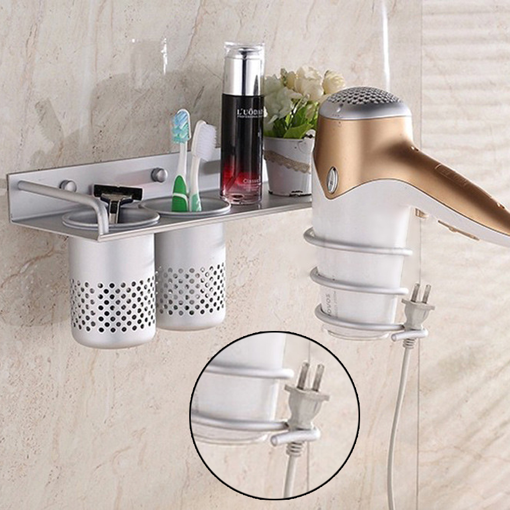 2016 new wall mounted multi use stainless steel hair dryer