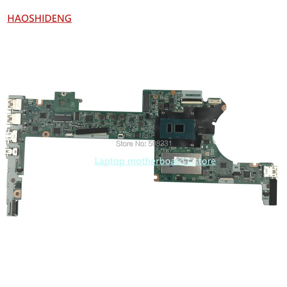 HAOSHIDENG DAY0DDMBAE0 mainboard for HP Spectre X360 13-4000 Motherboard 828825-601 with i7-6500U 8GB,All functions fully Tested