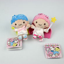 Mini sanrio set Princess Alice Plush Toys small Pendant pelucia brinquedos toys for children doll