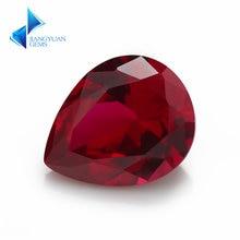 Заводская цена размер 3x5 ~ 10x12 мм груша 8 # цветной камень
