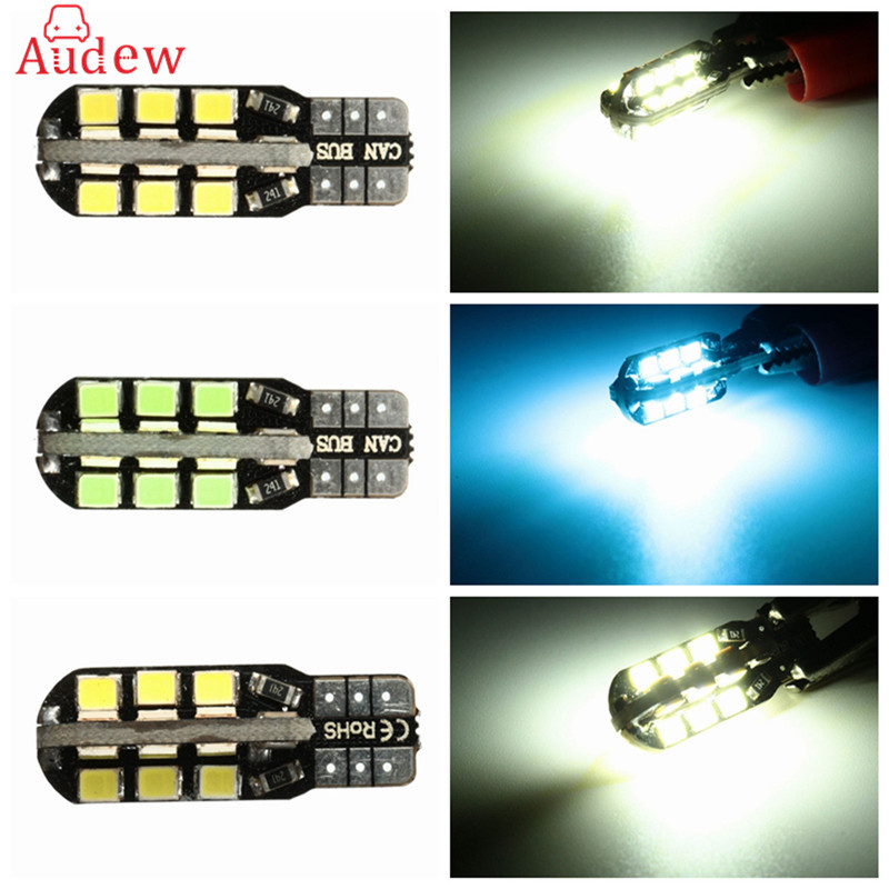 купить 24 SMD LED Car Light 12V T10 LED Auto Canbus Door Reading Lamp Turn Signal Side License Plate Light Bulb недорого