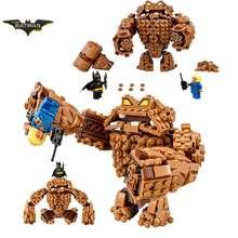 2017 Nouveau LEPIN 07050 Batman Film The Rock Monstre Clayface Splat Attaque Building Block Jouets Compatible avec Legoe Batman 70904