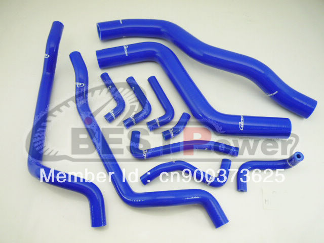 silicone Radiator hose Pipe/Heater Hose for 95 96 97 98 99 Mitsubishi Eclipse acdelco 18081l professional molded heater hose