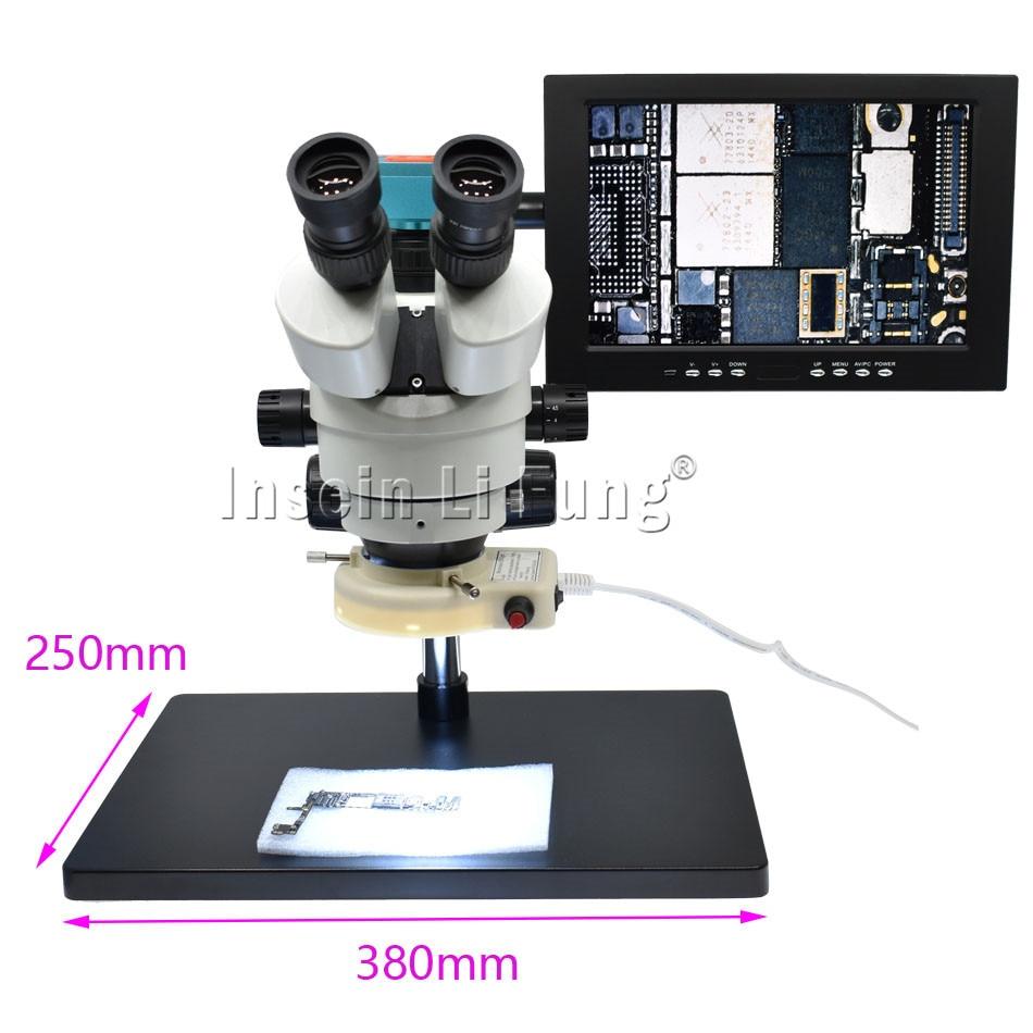 28MP 1080P 60FPS HDMI USB Camera Adjustable Focus New C Mount Adapter Trinocular Stereo HD Microscope