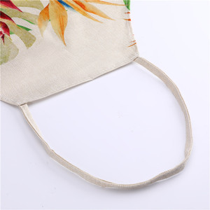 Image 3 - 1Pcs Butterfly Printed Kitchen Aprons for Women Cotton Linen Home Cooking Baking Waist Bib Pinafore Cleaning Tools 53*65cm A1016