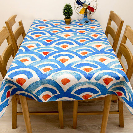 Tablecloth Rectangular Round Linens Nappe Floral mesa plaid dining table decoration doily drap Cloth Table Covers QQO642