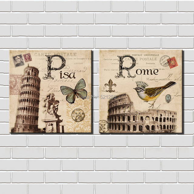 Italy Wall Art modern wall art home decoration printed oil painting pictures