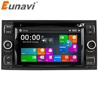 Eunavi 7 ''2 딘 자동차 DVD 플레이어 포드 포커스 갤럭시 축제 S 최대 C 최대 퓨전 환승 구가, Indash GPS, 라디오, 스테레오, 블루투스