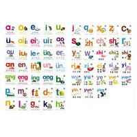 Magnetic Chinese Kids Book Characters Cards Learn Chinese Words with Pinyin Books for Children Color Art Education Books
