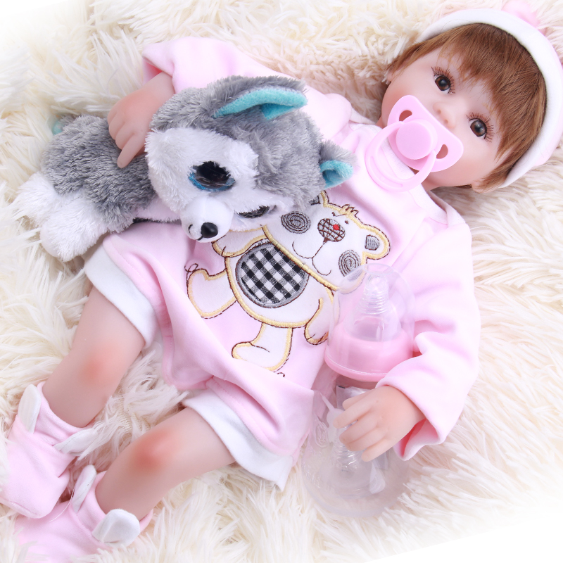 real dolls 42cm Silicone Reborn Baby Doll kids Playmate Gift For Girls 16 Inch Baby Alive Soft Toys For Bouquets Doll Bebereal dolls 42cm Silicone Reborn Baby Doll kids Playmate Gift For Girls 16 Inch Baby Alive Soft Toys For Bouquets Doll Bebe