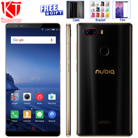 Original ZTE Nubia Z17S Full Screen Mobile Phone Snapdragon 835 6GB RAM 64GB ROM 5 73