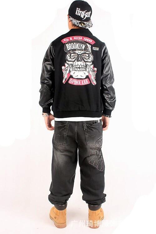 Aliexpress.com : Buy 2016 Brooklyn Streetwear Men&39s Leather Sleeve