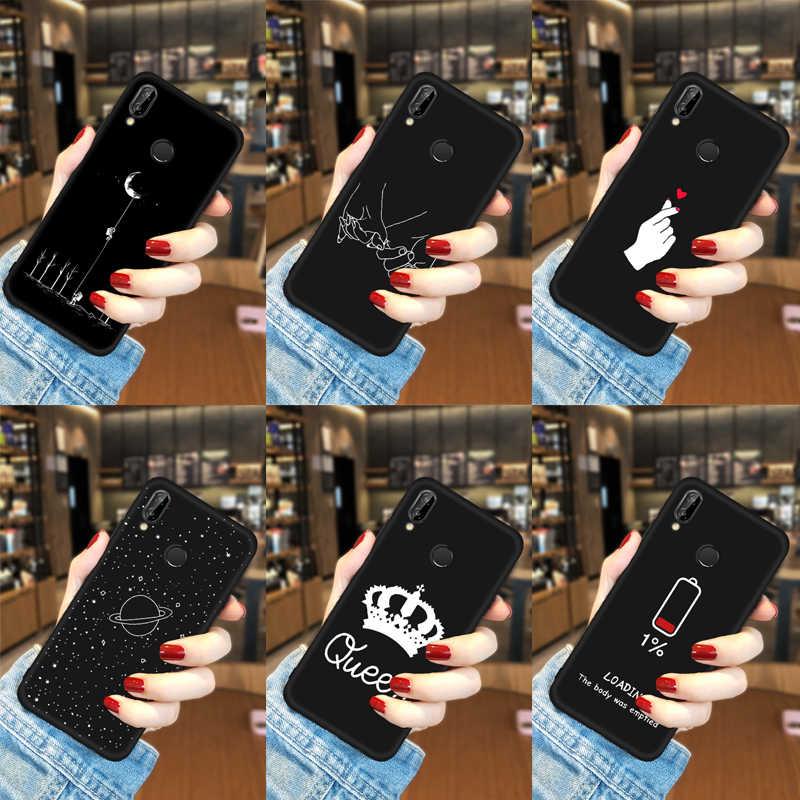 TPU Tampa Do telefone Para Huawei Nova 3 3i P20 Pro Companheiro 10 20 X Lite P10 Espaço Casos de Padrão Para honra 8X Max Nota 10 9 8 Lite 7X 8C