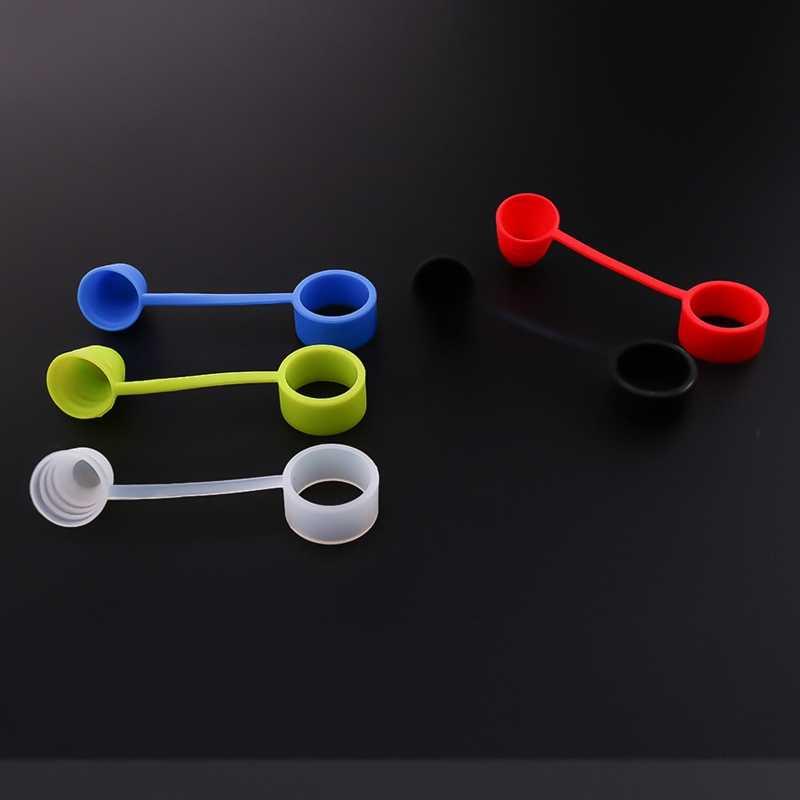 Siliconen Rubber Verstuiver Stofkap Voor Elektronische Sigaret Vaporizer Mondstuk Drip Tip Cap Fit RDA RBA Verstuiver