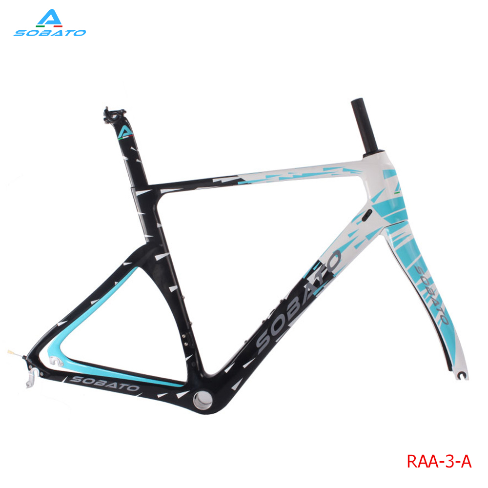 2016 Newest Painting T700 Full Carbon Road Frame Disc Brake and Chinese Carbon Frames Racing Bike 46/49/52/54/56/58cm 2017 newest 1 1 disc road bike frame 4 sizes for disc carbon frame ultra light frame fork seat post headset bb adapter thru axel