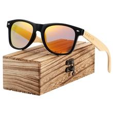 BARCUR Bamboo Polarized Sunglasses Men Wooden Sun glasses Women Brand Designer Original Wood Glasses Oculos de sol masculino