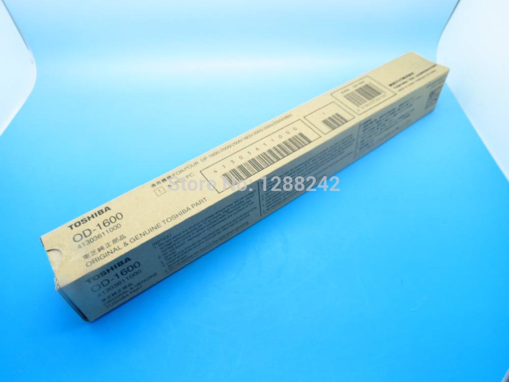 Free shipping new Original Drum OEM OD-1600 for Toshiba E STUDIO 160/168/169/220/250 powder for toshiba e4540 c for toshiba t25 y for toshiba e studio 3540c low yield transfer belt powder lowest shipping
