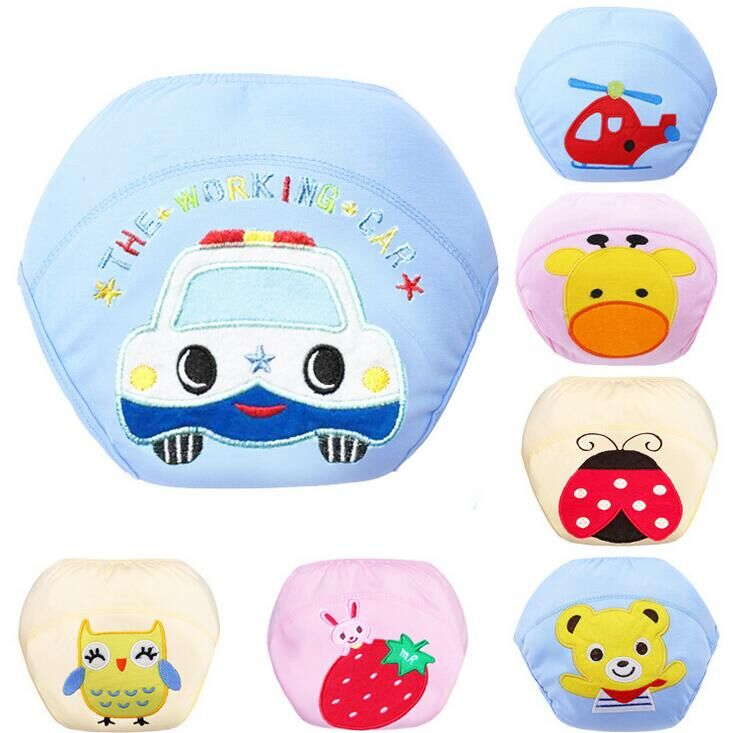 7 Kinds Of Styles BABY Diapers Cover Washable Reusable BABY Nappies Changing Training Pant/Baby Diaper/Cotton Learning Pants #9