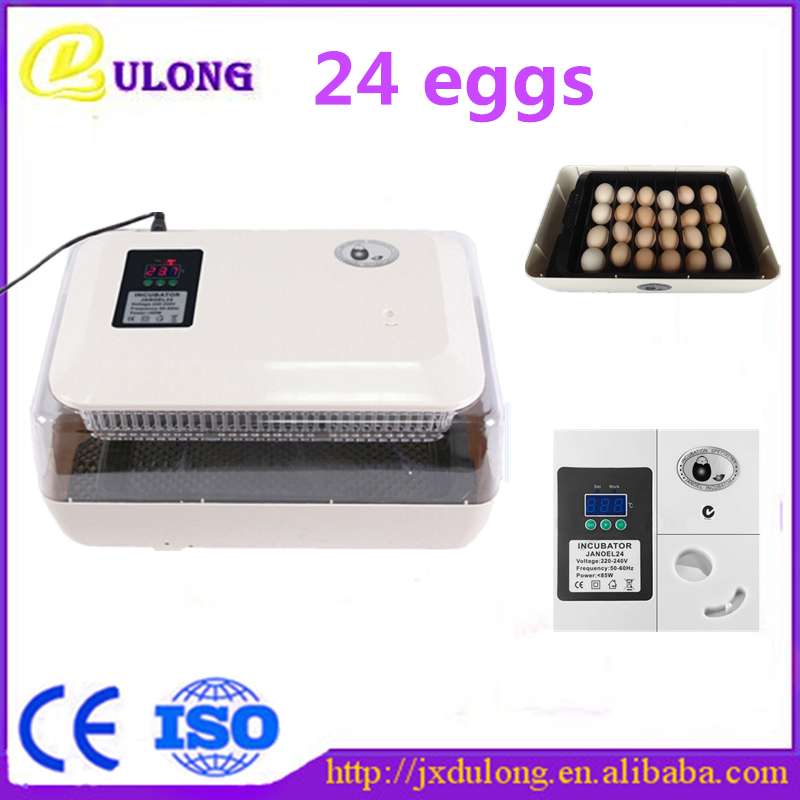 CE approved over 98% hatching rate high quality 24 poultry household mini automatic egg incubator egg hatching machine ce certificate poultry hatchery machines automatic egg turning 220v hatching incubators for sale
