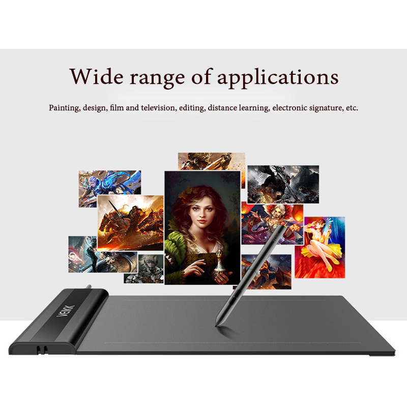VEIKK S640 Graphic Tablet Drawing Tablet 6x4 inch Drawing Tablet Pen 8192 Levels Analog drawing pencil HB 2B 6H 4H 2H 3B VEIKK S640 Graphic Tablet Drawing Tablet 6x4 inch Drawing Tablet Pen 8192 Levels Analog drawing pencil HB 2B 6H 4H 2H 3B