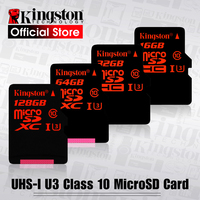 Kingston Micro SD Card 32GB microSDHC UHS I U3 Memory Cards 64GB Class 10 90MB/S Microsd TF Card 128GB Support HD 3D 4K Video