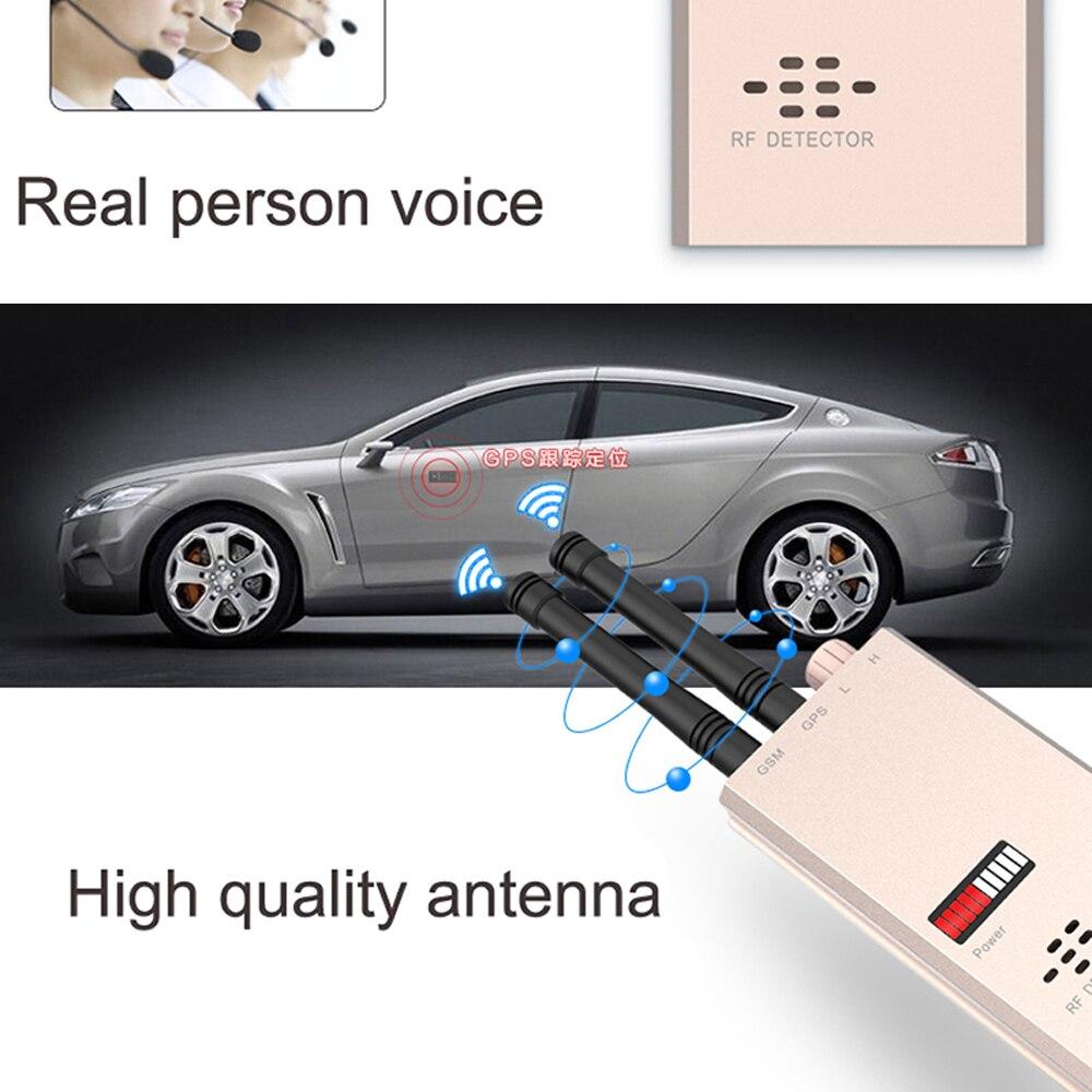 1 PCS Wireless Signal Scanner GSM Finder Device RF Detector MicroWave Detection Security Sensor Alarm Find Anti-Spy Safe Protect