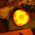New Cartoon LED Creative Sound Light Control Baby Feeding Wall Lamp Children Bed Room Night Lights Beetle