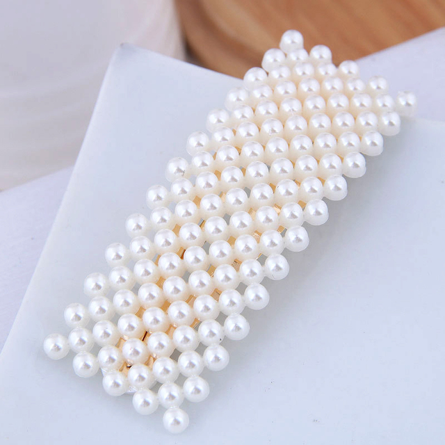LiuXSP Pearl Hair Clips...