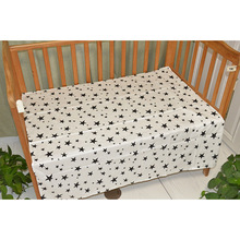 adamant ant Baby bed sheet Muslinlife Cotton Fitted Sheet Cartoon Crib Mattress Protector,baby for crib 150X90cm