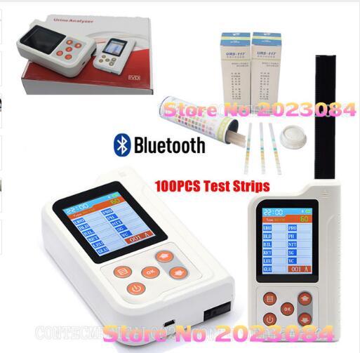 Contec BC401 Handheld Digital Urine Analyzer with 100PCS Test Strips USB,Bluetooth,FDA