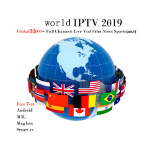 Iptv Spain Dutch Turkey Portugal Italia France Subscription Iptv Adult M3u Youporn Vod For T9 TX3MINI Mag Htv Android Tv box(China)