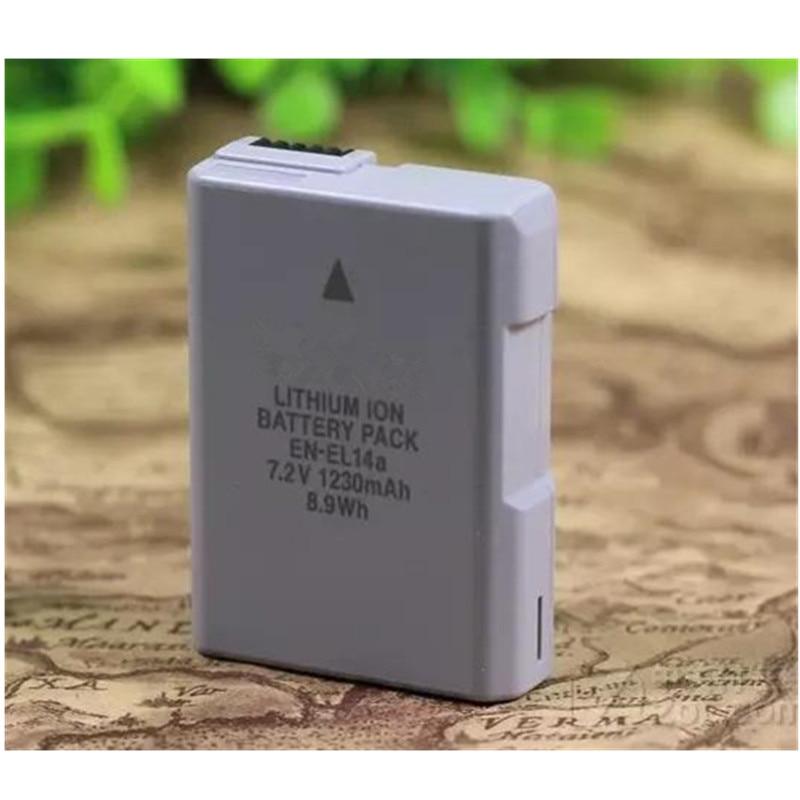 EN-EL14a EN EL14a EL14 batteries au lithium pack ENEL14a batterie Pour appareil photo Numérique Nikon D5600 D5300 D5200 D3200 D3400 D5100 D3100