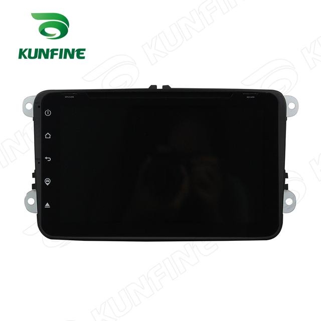 Quad Core 1024*600 Android 5.1 Car DVD GPS Navigation Player for Volkswagen 8VW Touch button steering wheel control Remote