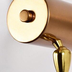 Image 5 - مصباح حائطي قابل للتعديل من الحديد باللون الأسود والذهبي للشخصية الإبداعية الحديثة الحد الأدنى لغرفة المعيشة وغرفة النوم والدراسة في الممر بجانب السرير