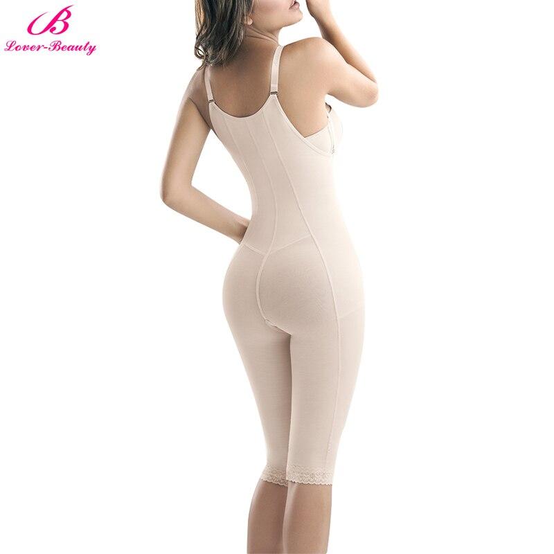 df131a25ee524 Lover Beauty Women Zip Full Body Shaper Breathable Corset Bodysuit  Shapewear Thigh Slimming Firm Tummy Control Slips Panties-in Bodysuits from  Underwear ...