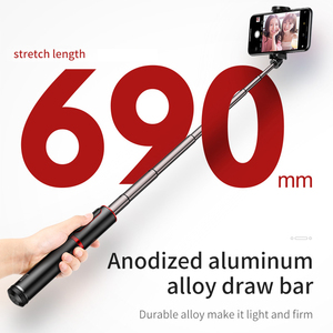 Image 5 - Baseus Wireless Bluetooth Selfie Stick Portable Handheld Phone Camera Tripod with Remote Control For iPhone for Samsung Using