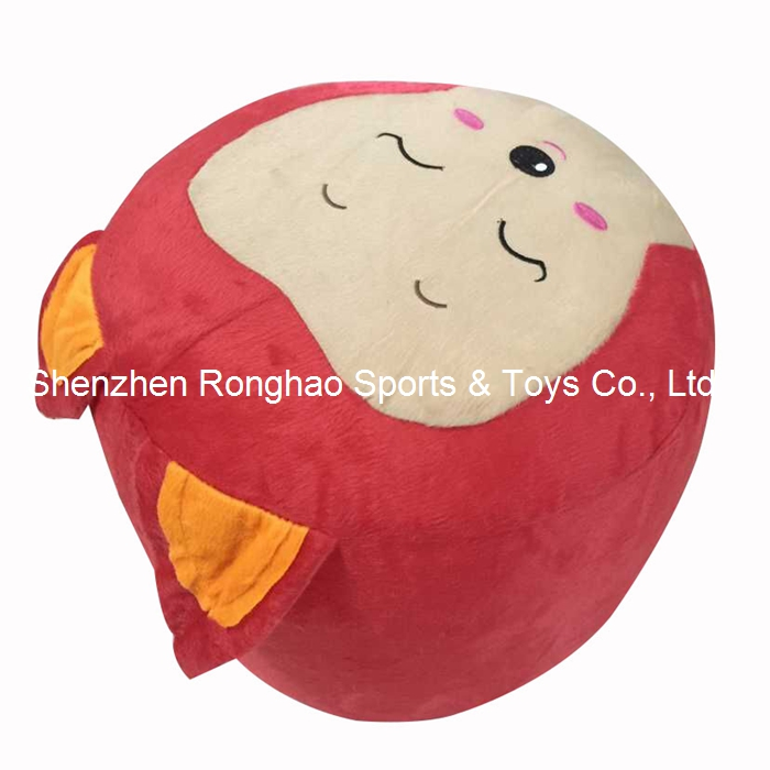 Inflatable Ali Smile Stool Thicken PVC Liner Cotton Cover Cartoon Plush Air Pouf Chair Lovely Pneumatic Stools Portable Inflatable Ali Smile Stool Thicken PVC Liner Cotton Cover Cartoon Plush Air Pouf Chair Lovely Pneumatic Stools Portable