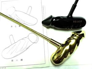 Image 3 - กอล์ฟคลับพัตเตอร์ผู้ชาย putter SHAFT balck GOLD ที่มีสีสันเลือกจัดส่งฟรี