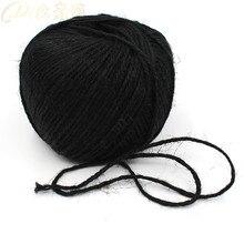 50 Meters/Lot Red Hemp Rope Natural Jute Twine String Rope 1.5mm 3Ply Hemp Cord Jute Cord For Garment Accessory