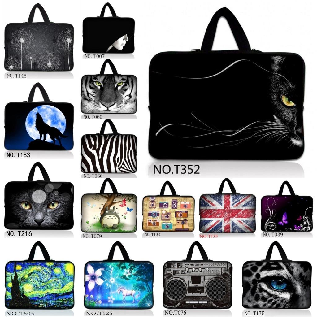 Black Cat Ultrabook Sleeve font b Case b font Notebook Cover font b Bag b font
