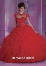 Vestido Festa 15 Anos 2015 Quinceanera Ball Gown Dresses to Party Debutante Girls Long Ruffled Clothing Beaded Corset Jacket